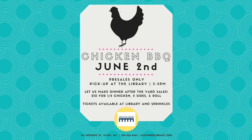 Chicken BBQ June 2nd