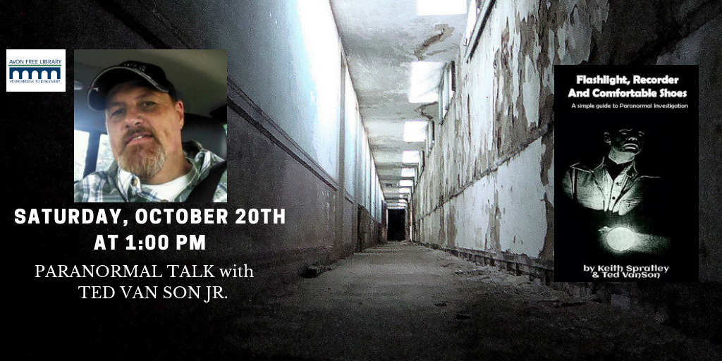 Paranormal Talk with Ted Van Son Jr.