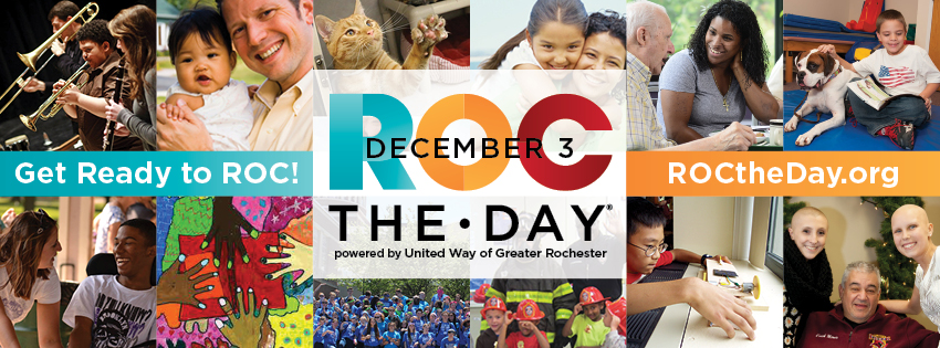 Thank you to everyone to gave and helped us Roc-the-Day!!